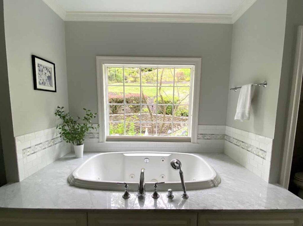 Bathroom tub remodel