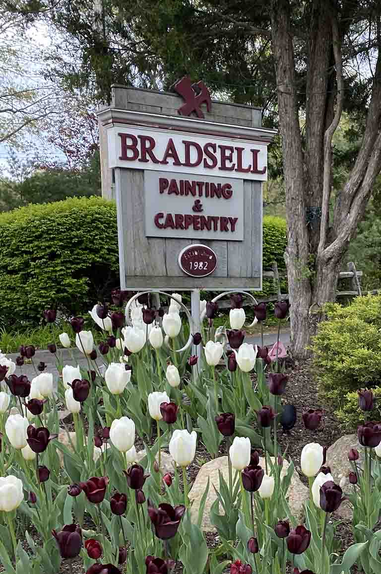 Bradsell Painting Carpentry Street Sign