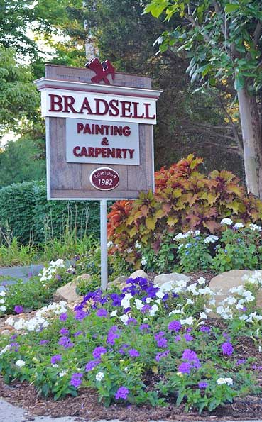 Bradsell Painting and Carpentry Sign