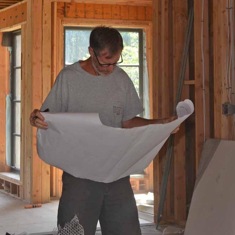 Bill reading renovations plans